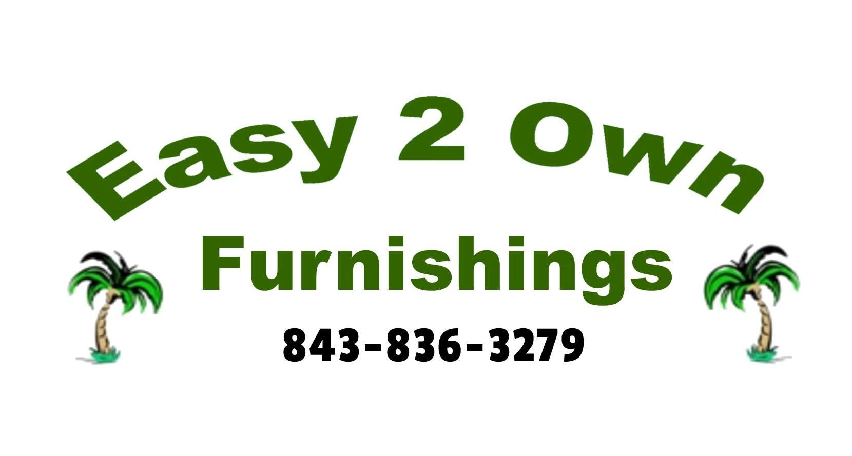 Easy 2 Own Furnishings Sticky Logo
