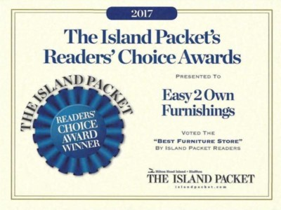 Easy 2 Own Furnishings 2017 Readers Choice Award