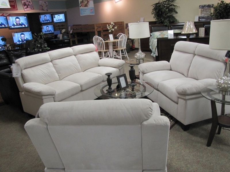 White Living Room Set - Easy 2 Own Furnishings